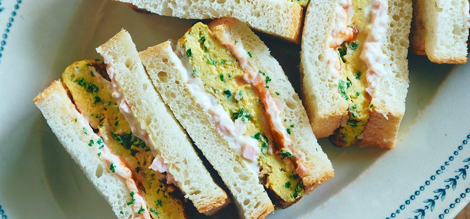 春はサンドイッチの画像