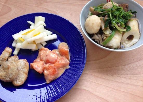【クラシコムの社員食堂】郷土料理。
