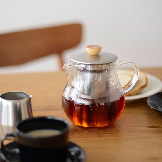 【Buyer's Voice・新商品】茶こしが魅力のティーピッチャー。
