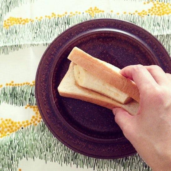 フォトダイアリー#145 | バナナがあったらトーストはこう食べるのが好き。