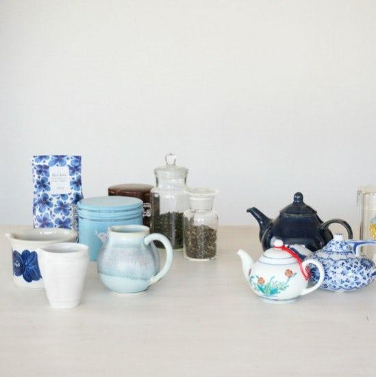 連載|柳沢小実の、わたしが出合ったとっておき。 第5回『お茶のうつわ』