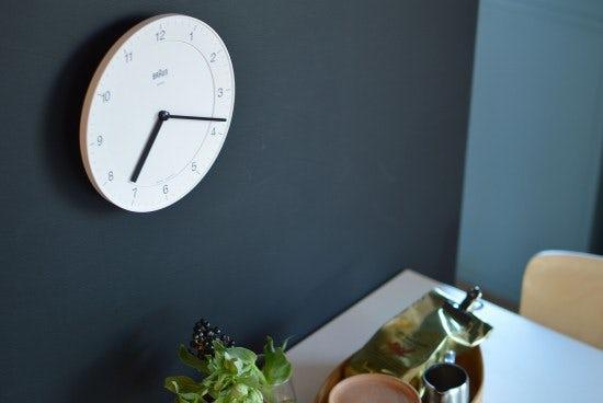 【5月19日の再入荷】BRAUNの壁掛け時計が入荷しました!