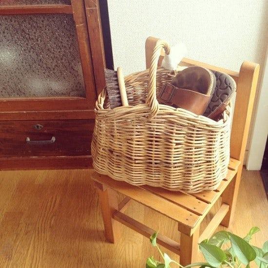 【スタッフの愛用品】Encachetteのアーチバスケット