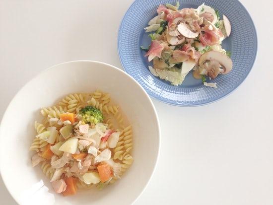 【クラシコムの社員食堂】お皿選びは色でたのしむ。