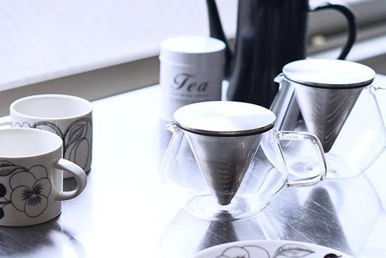 【Buyer's Voice・新商品】紅茶をいれた姿が最高に美しいティーポット。