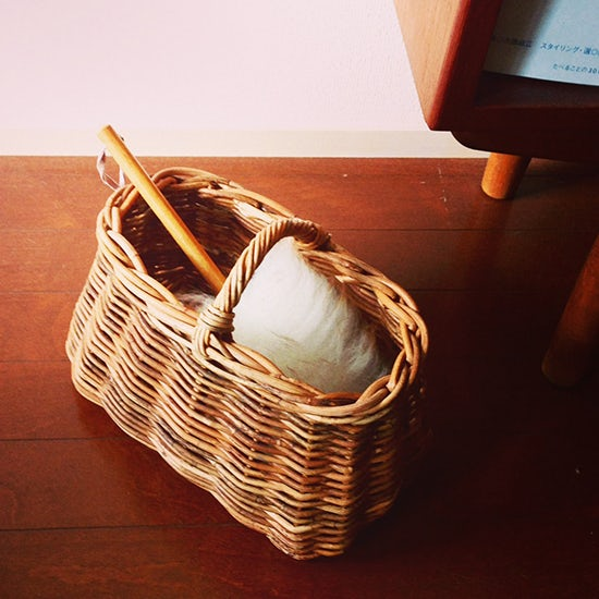 【スタッフの愛用品】アンキャシェット/ショートハンドルバスケット