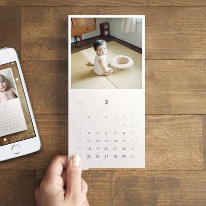 【おすすめアプリ】お気に入りの写真で、カレンダーのお便り。
