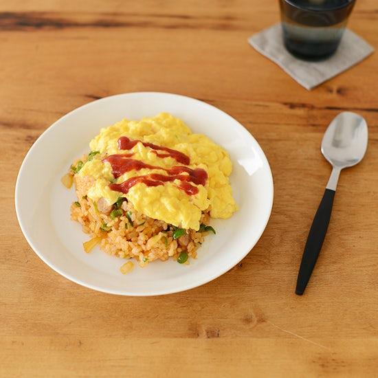 【料理家さんの定番レシピ】ふわふわ卵の簡単オムライス