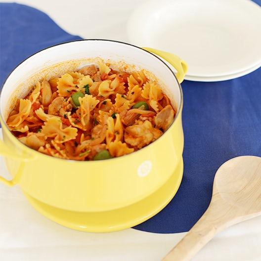 【料理家さんの定番レシピ】「お鍋ひとつ」でトマトパスタ