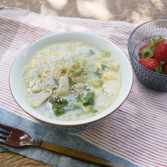 【朝ごはん特集|冬のホッと朝スープ】第1話:すぐにできる具だくさんスープ
