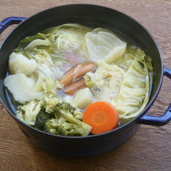 【朝ごはん特集|冬のホッと朝スープ】第3話:週末のブランチに食べたいポトフ