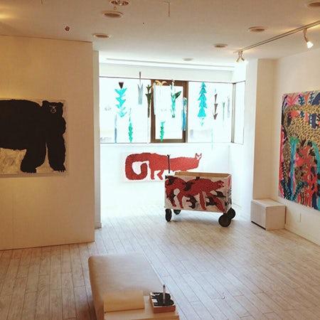 【おすすめの展示】絵本作家ミロコマチコさんの個展が今週25日まで開催中。