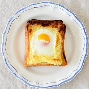 トースト 作り方 目玉焼き