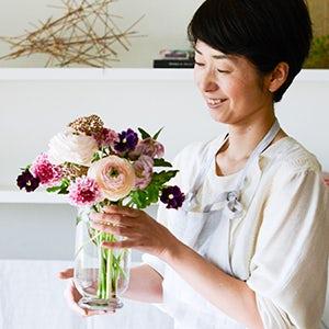 【特集 お花と上手に暮らすコツ】第1回:まず知っておきたいお花の基本その1。