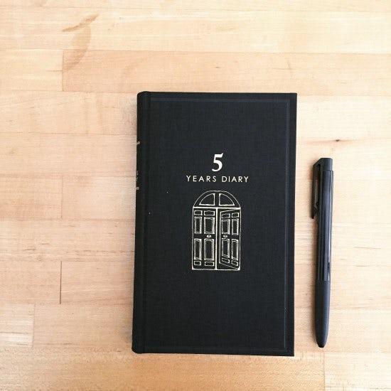 【スタッフコラム】5年日記をはじめました。