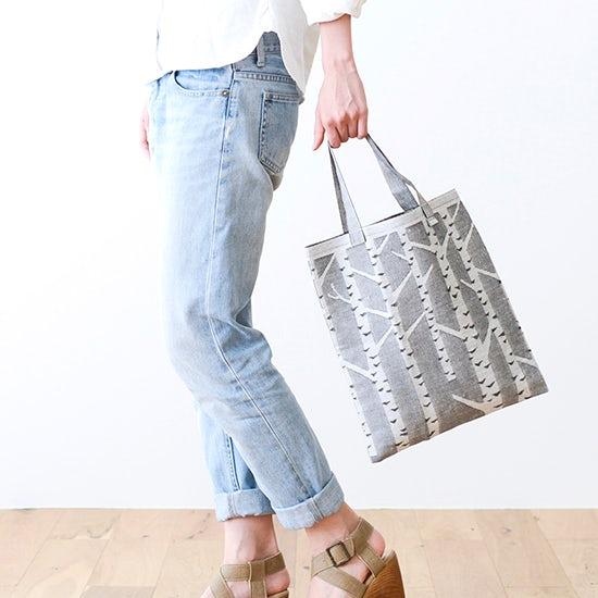 【新商品】上質を持ち歩く。ラプアンのリネントートバッグ。