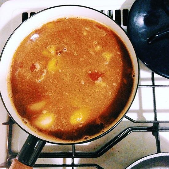 【つくってみたレポート】カレー粉からつくる、タモリさんレシピのカレー。