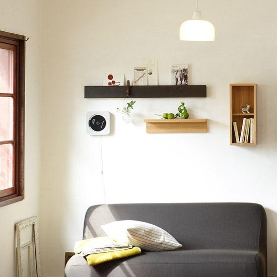 られる 無印 良品 壁 に 家具 付け