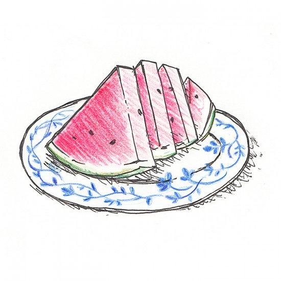 【今日のスケッチ】この夏、何回食べましたか?