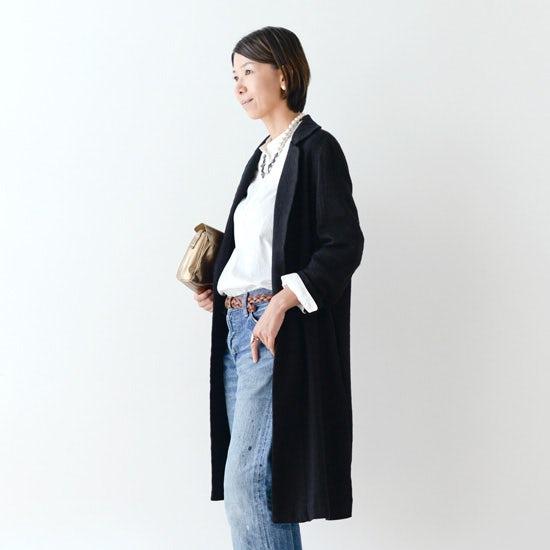 【新商品】軽やかなのにあたたかい、FLWのリネンウールコート。
