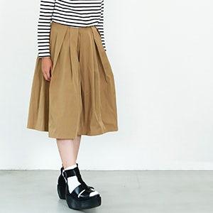 【おしゃれ講座】バランスが難しい膝丈スカート。上手に着こなすには?