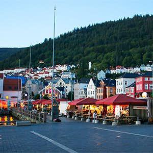 【北欧さんぽ】ノルウェー1:フィヨルド観光の玄関口。港町のベルゲンへ!