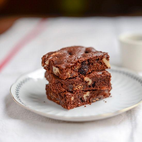 【料理家さんの定番おやつ】小堀紀代美さんの、チョコレートブラウニー。