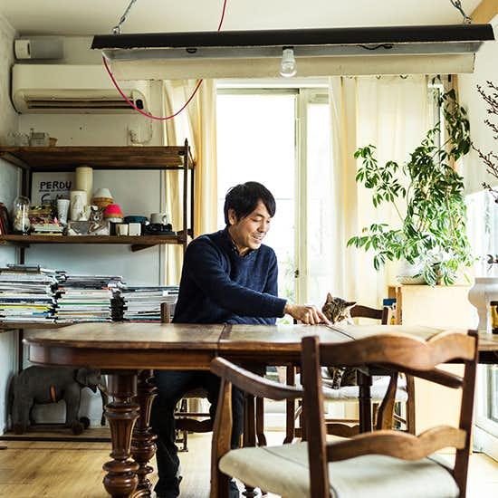 【インテリア特集】第1話:アンティーク家具を中心としたリビング - オルネ ド フォイユ店主 谷卓さん宅