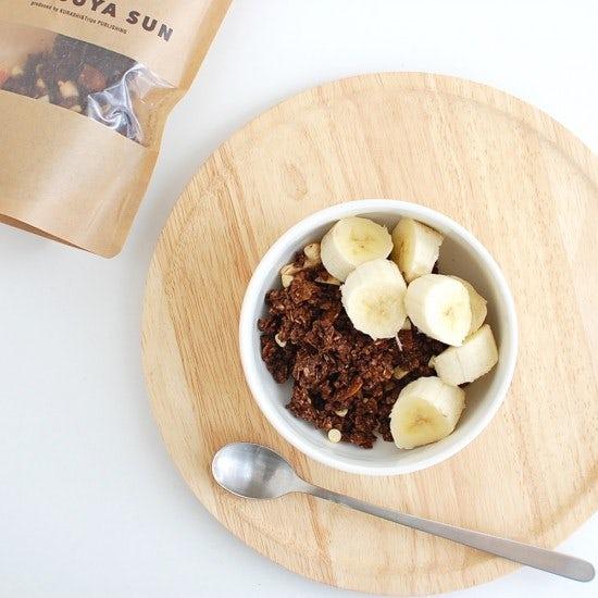 【年内最後のココアグラノーラ再販】お子さまも喜びそう、牛乳とバナナでチョコバナナ風の味わい!