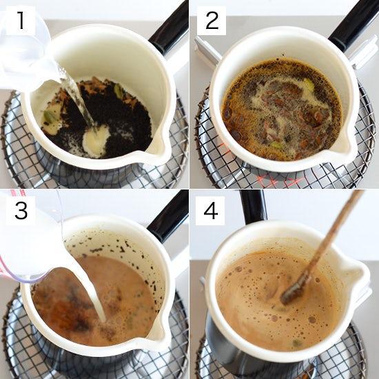 【チャイとココアの作り方】簡単!スパイスが香るチャイの作り方。