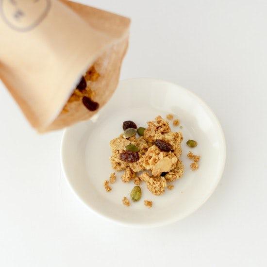 【メープルグラノーラ再販】寒い冬におうちで楽しむ。アイスと一緒に食べたいグラノーラ。