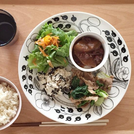 【クラシコムの社員食堂】春を感じさせる青菜がたっぷり!