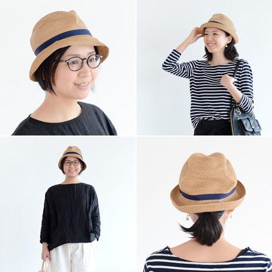【着用レビュー】mature ha.の麦わら帽子、髪型別にかぶってみました!