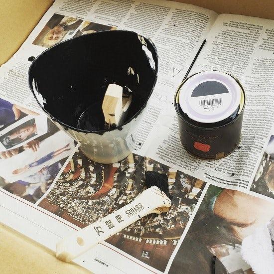 【スタッフコラム】気になったからやってみよう!はじめてのペンキ塗り。