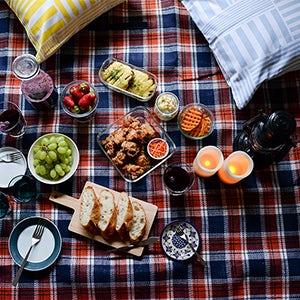 【ピクニックの楽しみ方】第2話:雨が降っちゃった…でも大丈夫!おうちで楽しむピクニック