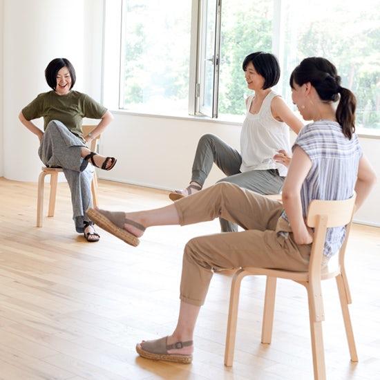 【座ったままできる運動】第1話:肩こり解消&姿勢がきれいになるストレッチ