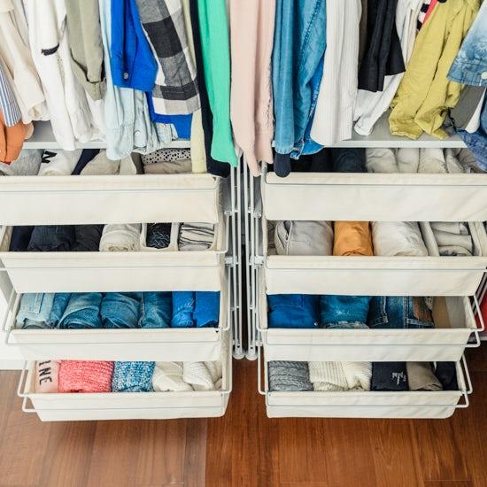 【衣替えのコツ】第4話:オフもオンも一カ所に!衣替えをしない、という選択肢。