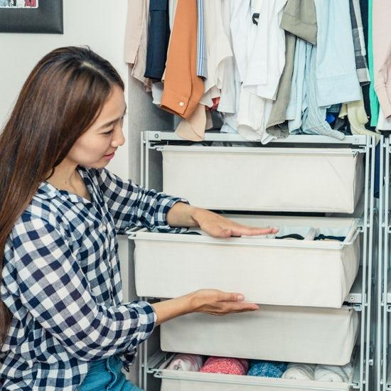 【衣替えのコツ】第2話:すっきりクローゼットに向けて。収納アイテムの選び方。