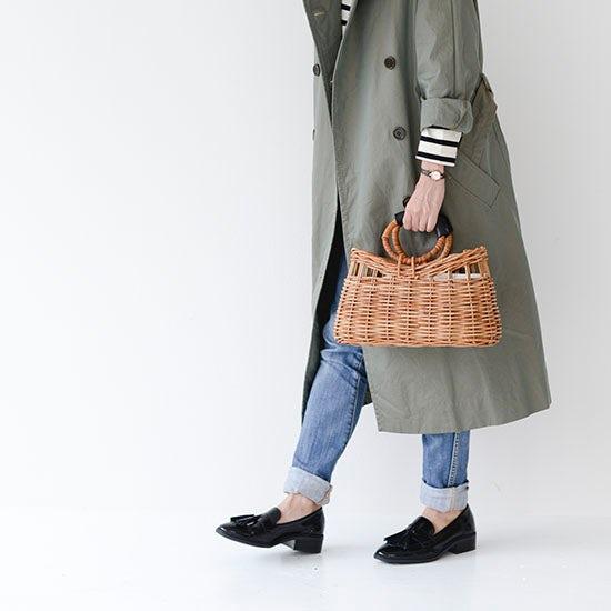 【新商品】1年中使えるかごバッグをオリジナルでつくりました!