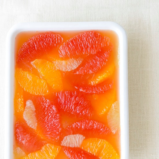 【料理家さんの定番おやつ】色とりどりの柑橘で作る、ゼリー寄せ