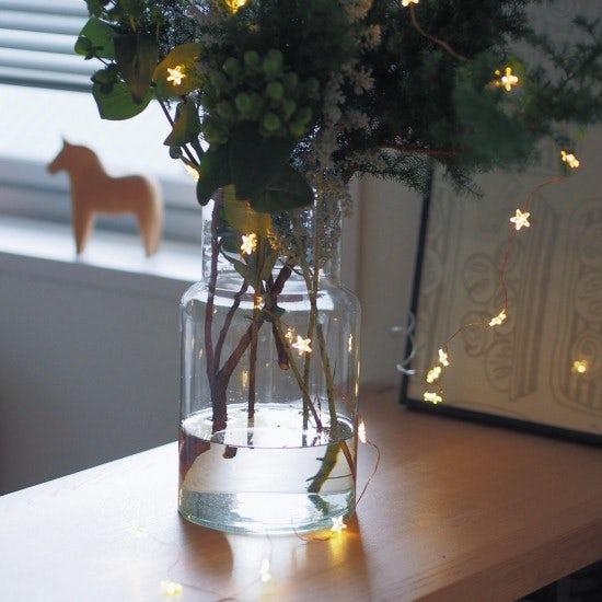【新商品】クリスマスツリーとしても楽しめる?!ちょっと大きめが嬉しいガラスベースが登場です。