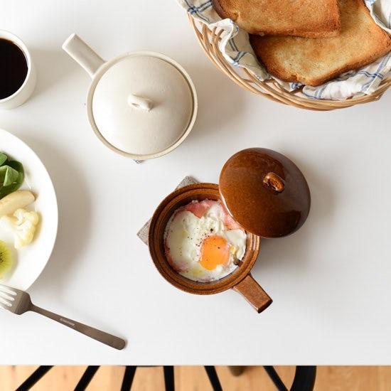 【新商品】調理から食卓まで♪「レンジで卵料理」を叶えるエッグベーカーが新登場です!