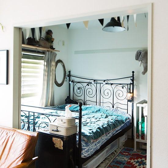 【インテリア特集】第2話:ベッドルーム兼子ども部屋は、生活感を隠してリラックス感を演出