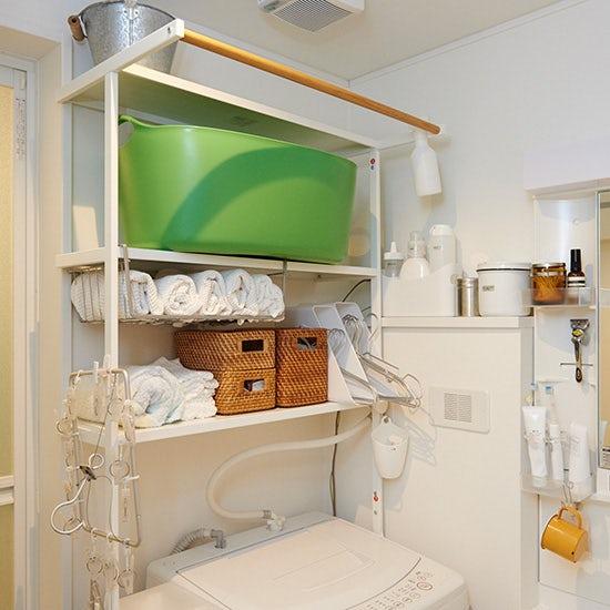 【洗面所の収納】本多さおりさん 第1話:家事効率アップ!3つのシーン別の収納場所