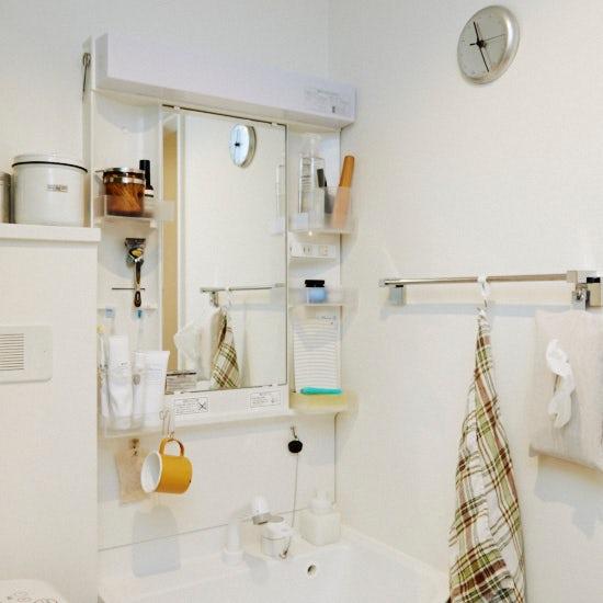 【洗面所の収納】本多さおりさん 第4話:統一感がでてすっきり!シンプルな洗面所のアイテム紹介