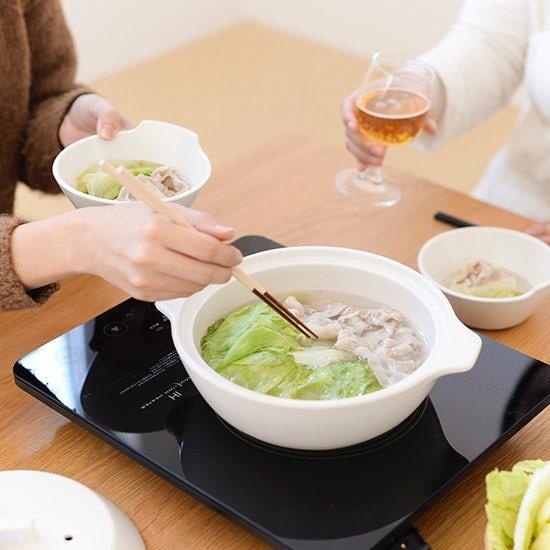 【新商品】IHも直火もOK!付属のすのこで蒸し料理も。デザインから使い勝手まで考えられた理想の土鍋が新登場です。