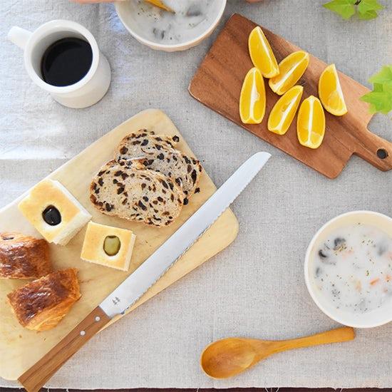 【スタッフの愛用品】嬉しいポイントがたくさん!morinokiのパン切りナイフ。