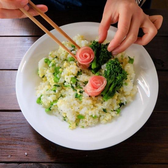 【ただいま収穫中!】具材は3つだけ。旬の菜の花を使った、変わり「ちらし寿司」レシピ