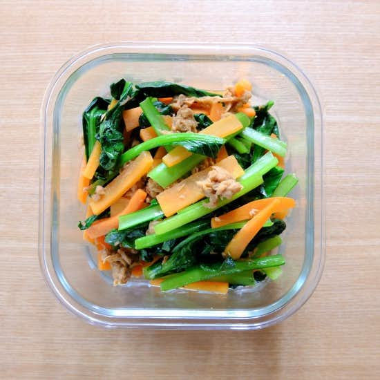 【ただいま収穫中!】宅配野菜で平日を楽ちんに、シンプル常備菜づくり。
