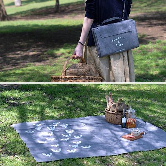 【新商品】憧れピクニックを叶えるレジャーシートをつくりました!